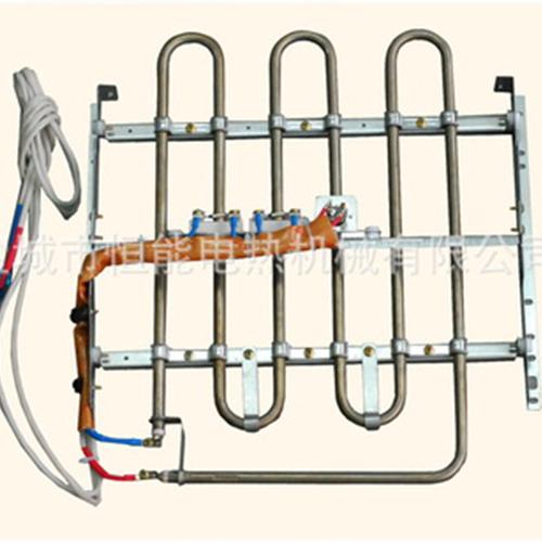 弯曲型电加热管